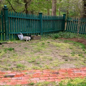 A bare, dead and dying lawn can be a big eyesore in any landscaping.  (Photo courtesy of Melissa Caughey/Tilly's Nest)