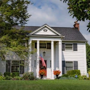 Colonial revival home