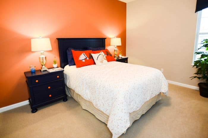 Accent Wall Best Bedroom Colors