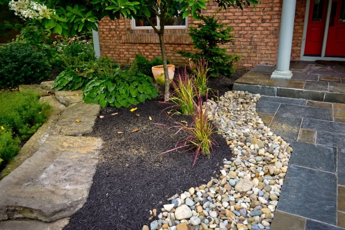 How to reuse stone angie 39 s list for Making a rock garden border