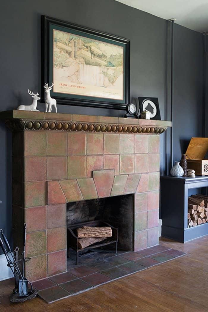 fireplace makeover contest restored tile