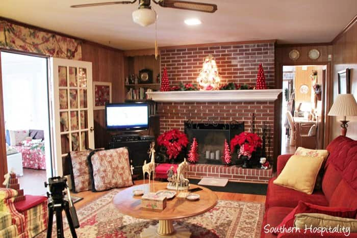Dated Brick Fireplace Gets Painted White Angie S List