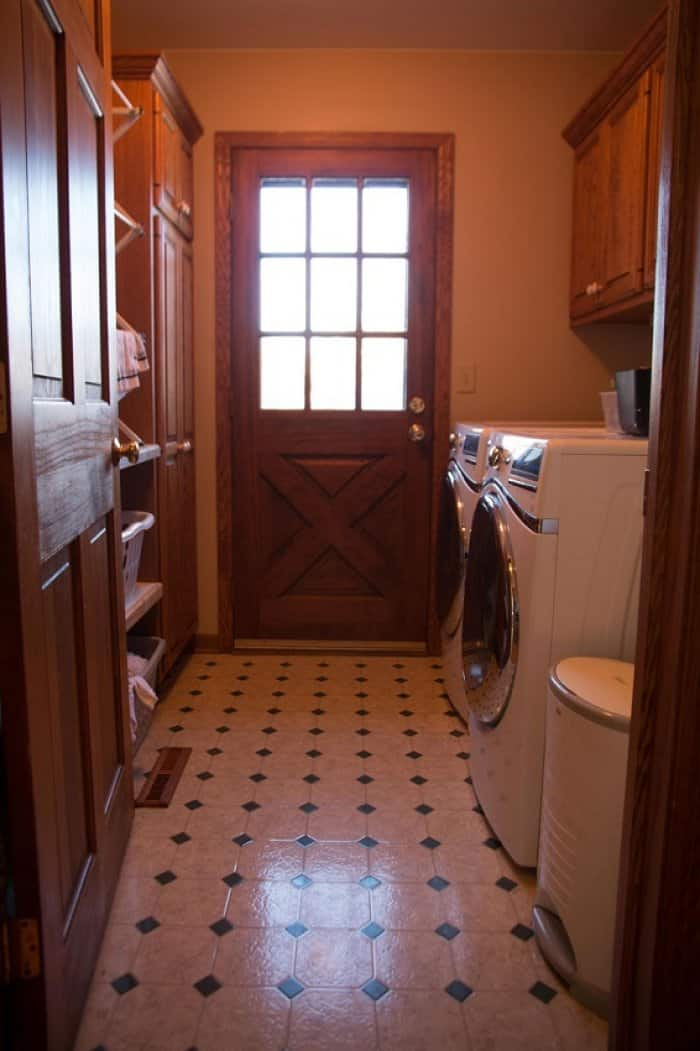 Laundry Room Refresh Cramped Laundry Corridor Transforms
