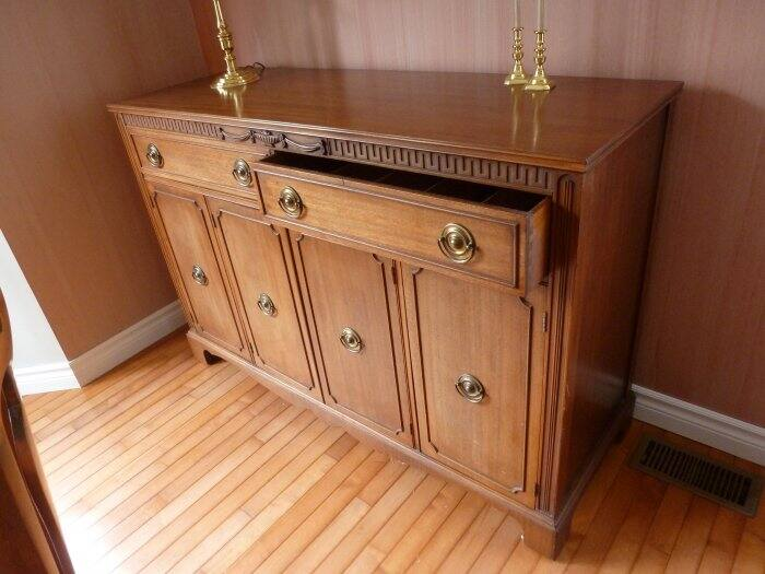 antique Mahogany China buffet. How to Protect Your Furniture from Sun Damage   Angie s List