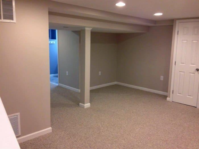 Carpeted basement floor & Best Flooring Options for Your Basement | Angieu0027s List