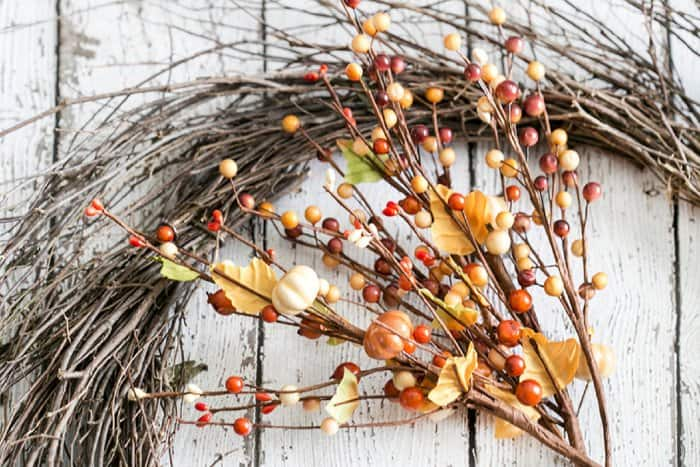Head to your local craft store and choose your favorite florals for your wreath. (Photo by Kelly Rowe/Live Laugh Rowe)