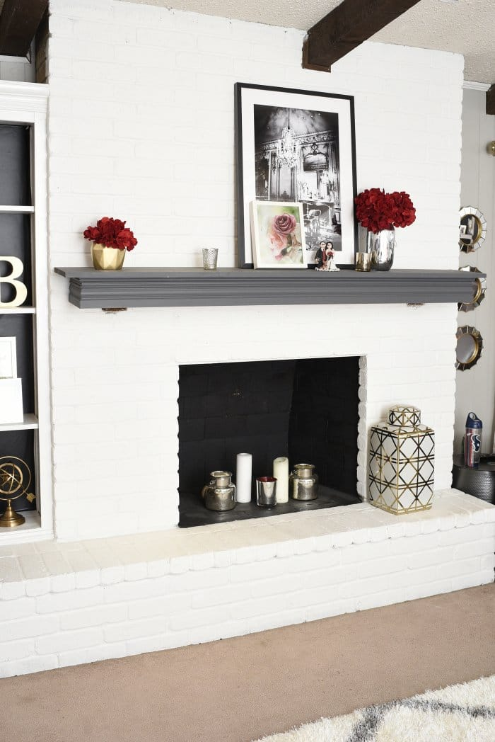 From White Painted Fireplace To Modern Elegance Angie S List
