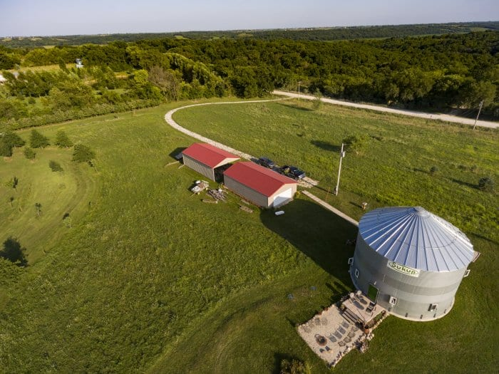 Couple Creates Grain Bin Silo Home Angie S List