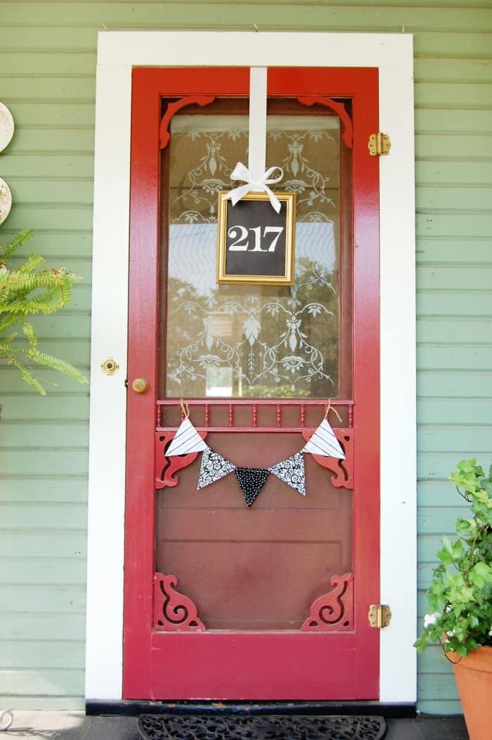 Front Door House Numbers