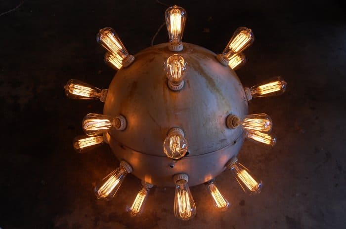 Orb Chandelier - Fun Lighting Idea