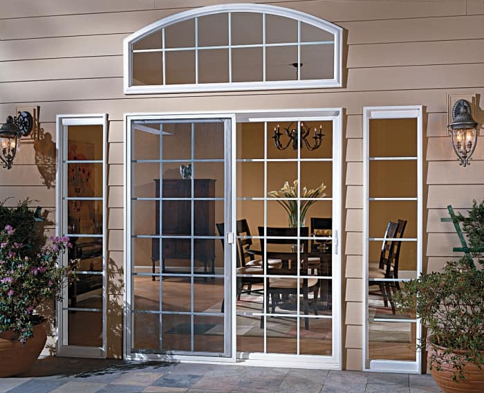 pella exterior patio doors transom and sidelights - Exterior Patio Doors