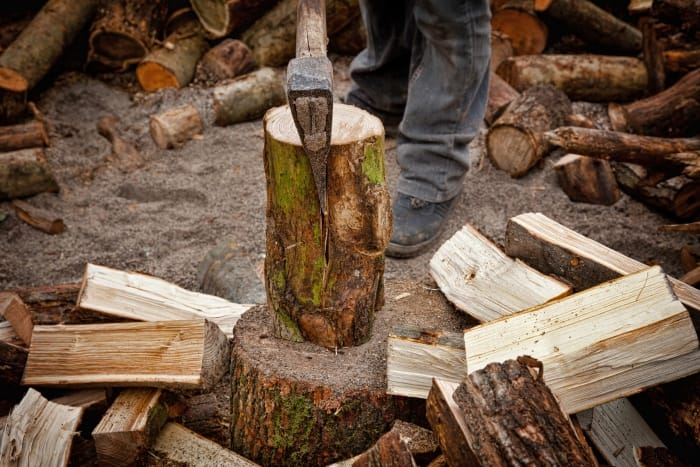 splitting logs