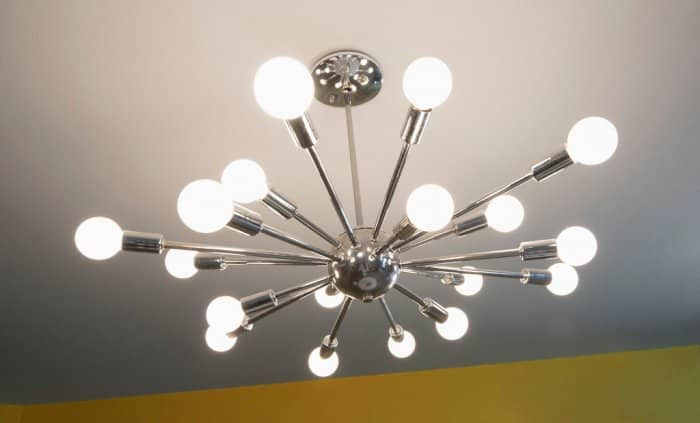 Sputnik Chandelier - Cool Lighting Idea