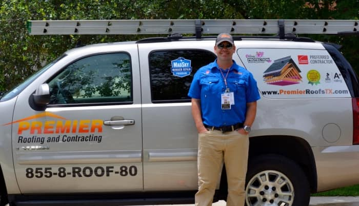 Premier Roofing And Contracting Owner Thaddaeus Biediger. (Photo Courtesy  Of Premier Roofing And Contracting). Soukup Roofing