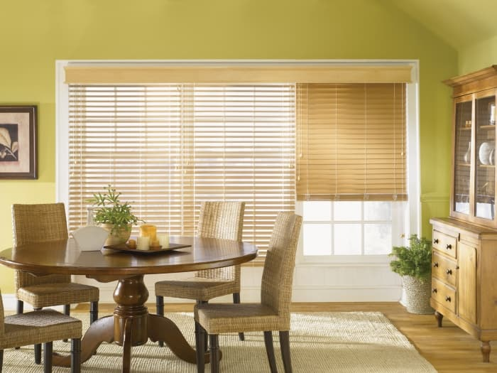 Faux Wood Blinds Window Treatments