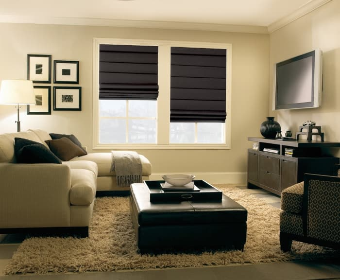 window dressing ideas bedroom roman shades window treatments 12 types of window treatments angies list