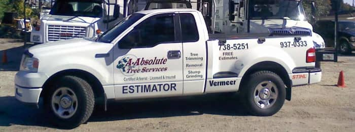 truck with company name