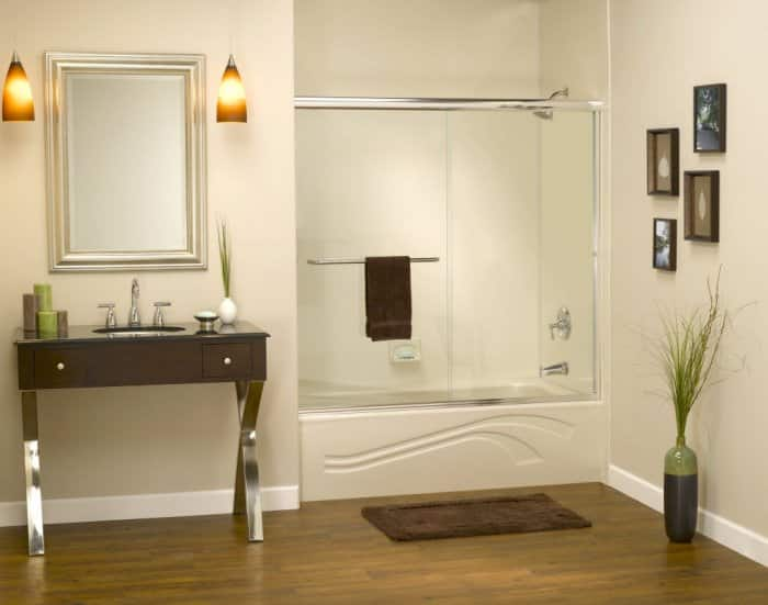 An Acrylic Bathtub Is One Of The Most Common Types Of Tubs In Homes Today.  (Photo Courtesy Of Innovate Building Solutions)