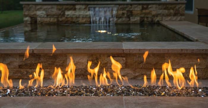 A fire pit creates the perfect space to sit around and relax. (Photo courtesy of Mike Fender)
