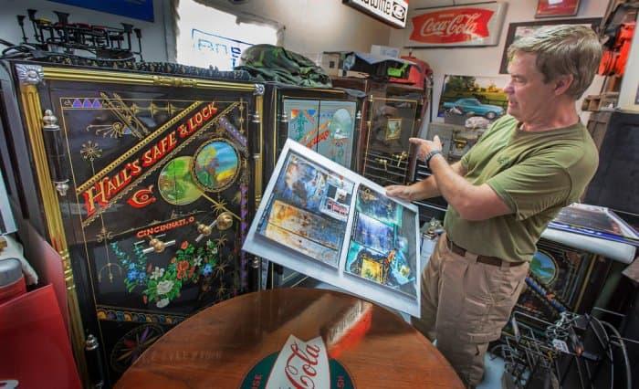 Antique Safes Double as Art Canvas for Craftsman | Angie's List
