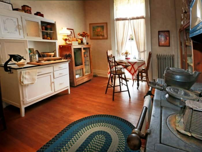 the danville indiana sheriff residence with antique furniture