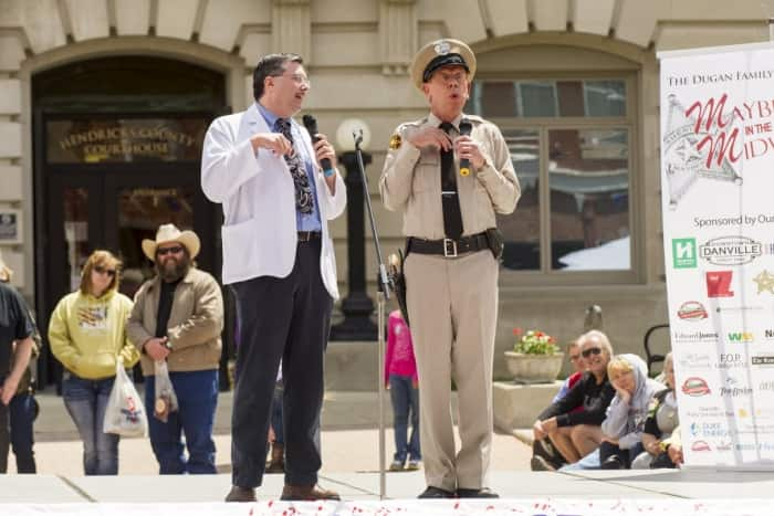 """The now-annual Mayberry in the Midwest festival features tribute artists who portray iconic cast members from """"The Andy Griffith Show."""" (Photo by Doug McSchooler)"""