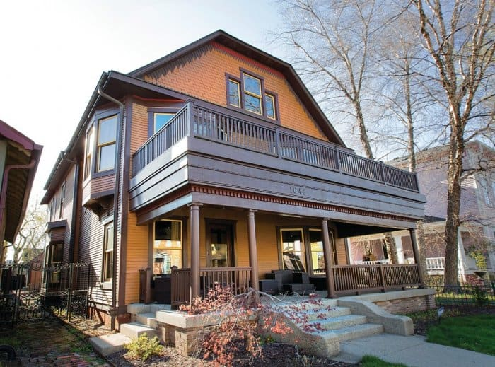 Historic home in Herron-Morton in Indianapolis