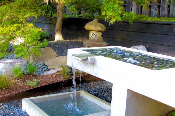 Backyard Fountain Feature
