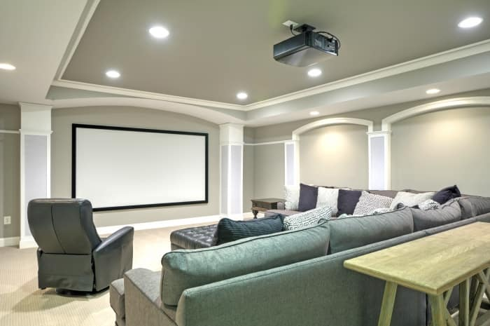 Ceiling Design Integral To A Remodeled Basement Angie S List