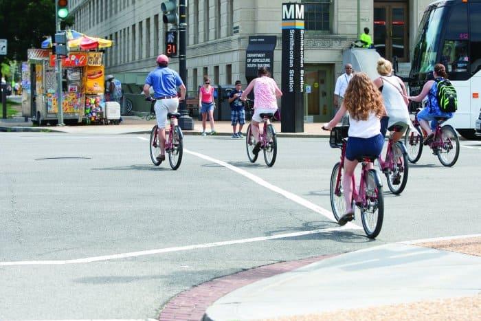 Washington D.C. bike commuters