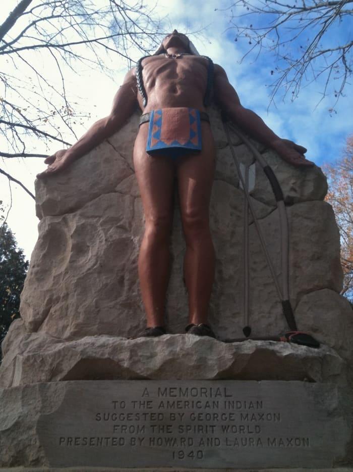 Camp Chesterton, odd Indiana, Native American