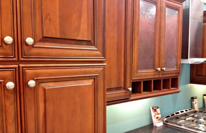 Cabinets don't need a fancy designer name to be durable and look stylish in your kitchen. (Photo by Jason Hargraves)