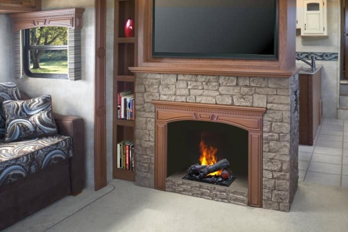 Traditional electric fireplace - Is An Electric Fireplace Worth The Money? Angie's List