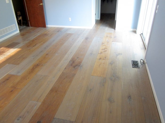 Engineered Hardwood Floor Millennium Walnut Oiled Natural