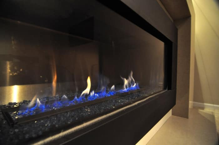 fireplace tempo products standalone grande ethanol modern freestanding fireplaces ventless ignis