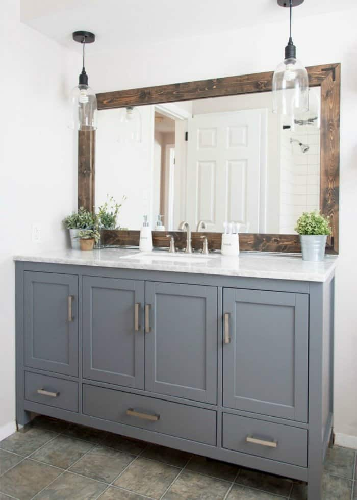 Ideas For Updating Bathroom Vanity Light Fixtures Angie