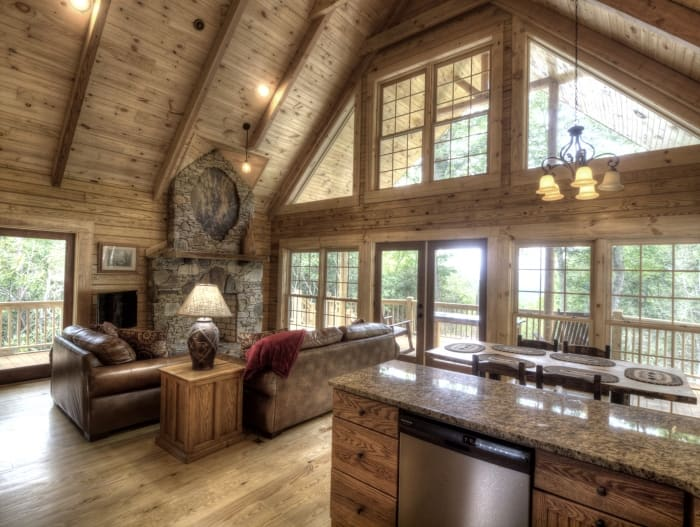 How much does a log cabin cost angie 39 s list for How much does a 2 story house cost