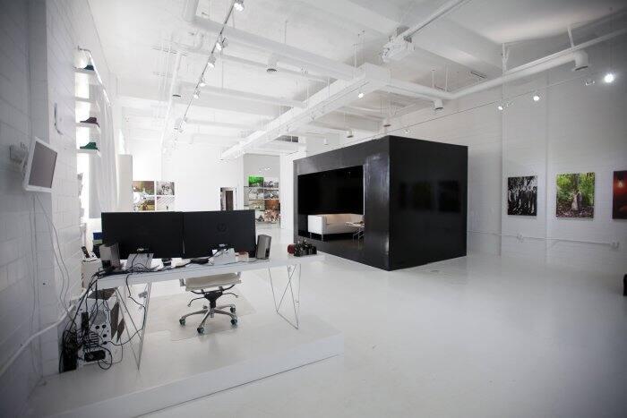 large, open photo studio
