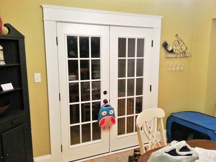 Captivating How To Install French Doors Source · Patio Door Trim Molding Image  Collections Doors Design Ideas