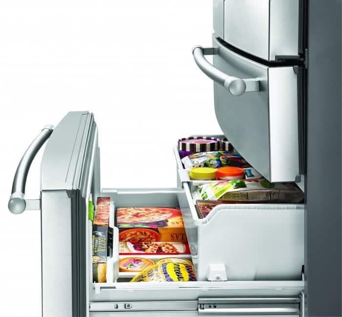 Whirlpool freezer drawer