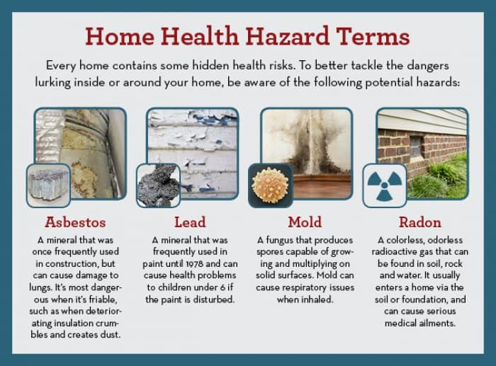 Health Hazards Infographic