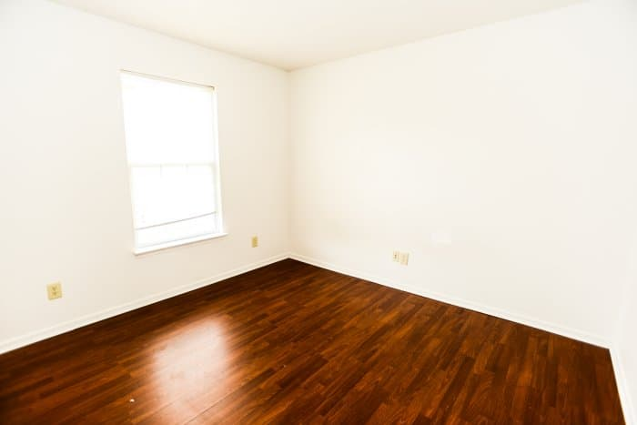 A Hardwood Floor After A Refinishing Job