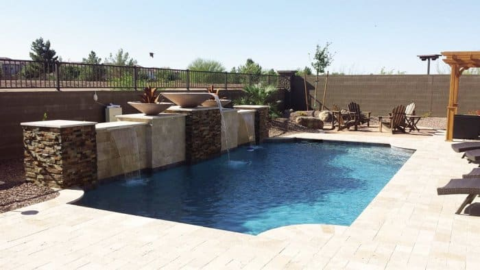 With Help From ScapeTech Landscaping U0026 Design, Justin H. Says He Got The  Backyard Oasis That He Wanted, Complete With A Pool And Putting Green.