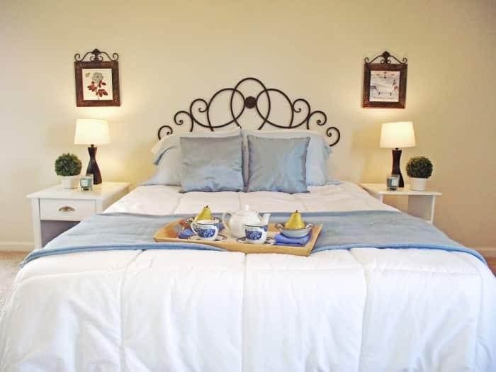 bedroom, home staging