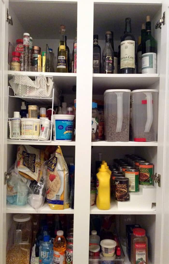 ideas to organize your kitchen pantry cabinet | angie's list