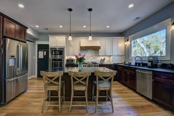 Include plenty of lighting in your new kitchen. (Photo by Carly McAlister)