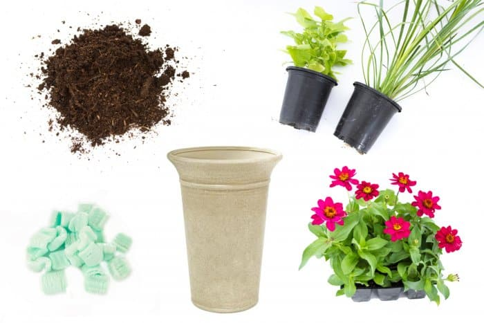 supplies needed for planting in large planters. Planting Tips for Large Garden Pots   Angie s List