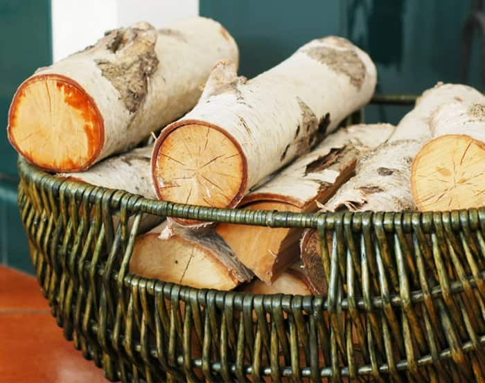 basket of cut wood