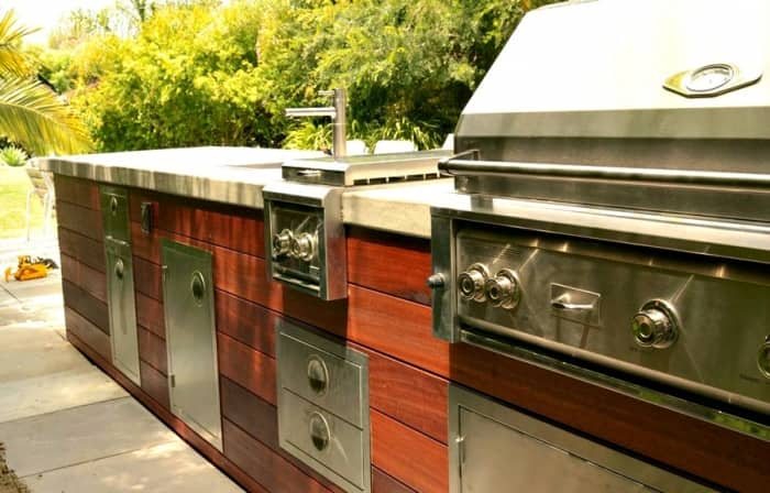 Astounding Outdoor Kitchens Angies List Interior Design Ideas Ghosoteloinfo