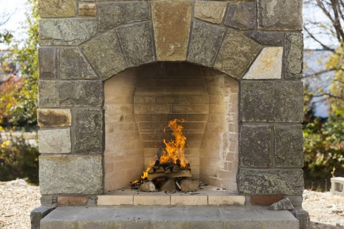 Cost Outdoor Fireplace Fireplaces
